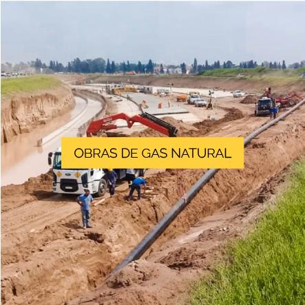 OBRAS DE GAS NATURAL